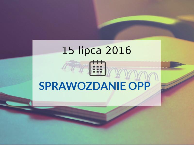 sprawozdanie OPP
