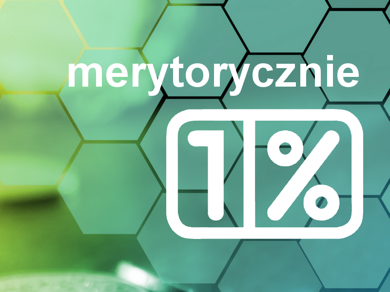 merytorycznie o 1%